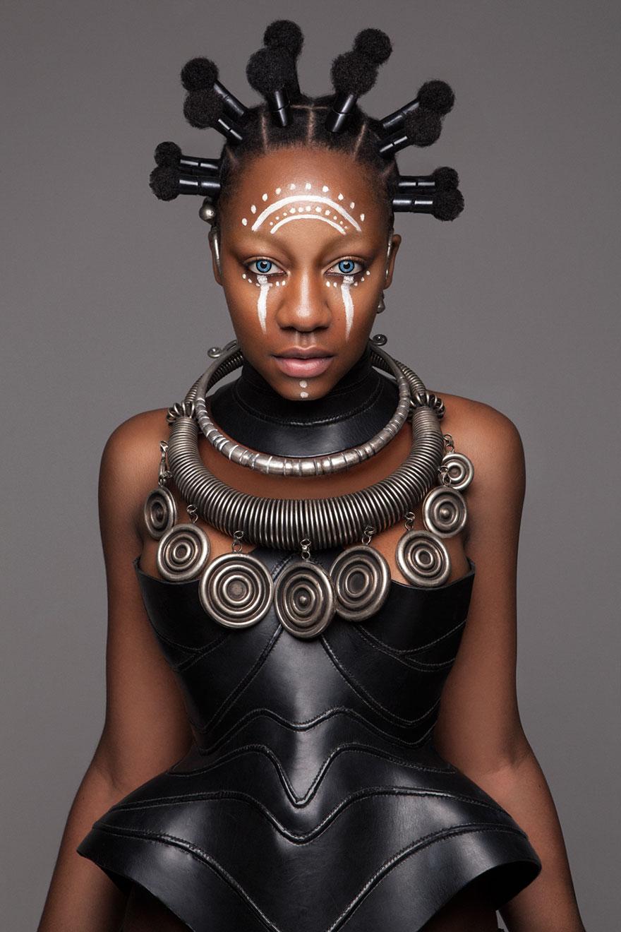 Frumusete feminina in cultura africana - Poza 6