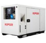 Generator Curent Electric Digital Kipor ID 10, 10.5 kVA, Motor 3 cilindrii, 4 timpi, Diesel, Autonomie 9 ore