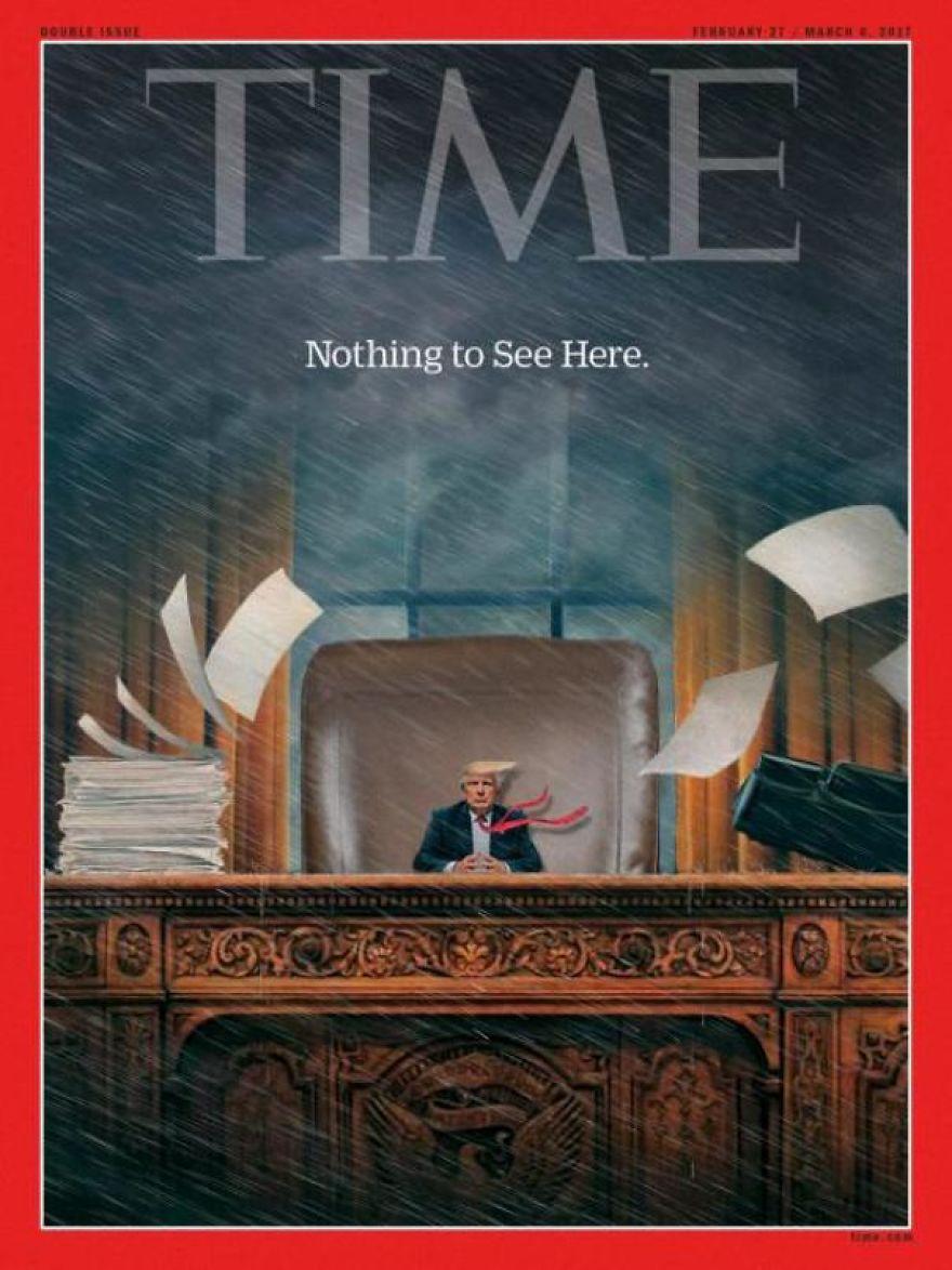Donald Trump, ridiculizat de internauti, in poze haioase - Poza 11