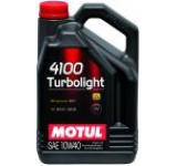 Ulei motor Motul 4100 Turbolight 10W-40, 4L, Diesel-Benzina, Semi-Sintetic