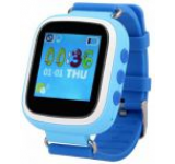 Smartwatch iUni Kid90 52118-1, 1.44inch, GPS, Bratara silicon, dedicat pentru copii (Albastru)