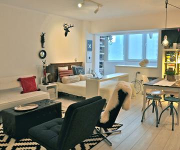 Bucuresti: Apartament de 38 mp in stil suedez