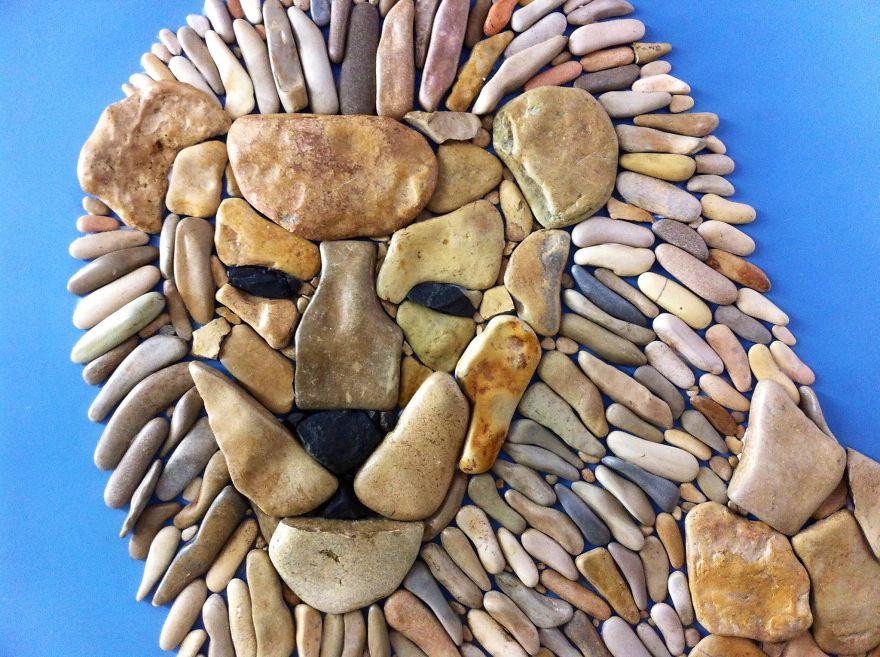 Creatii artistice cu pietre - Poza 13