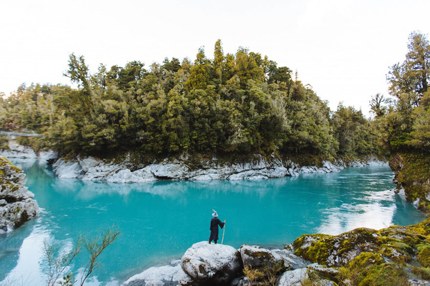 Calatoria lui Gandalf prin Noua Zeelanda, in poze epice - Poza 12