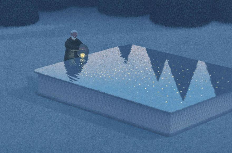 Capodopere literare, in ilustratii suprarealiste - Poza 5