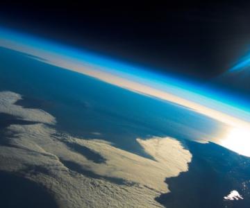 Proiectul Pacific Star II - imagini de la altitudine mare