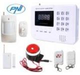 Sistem de alarma PNI PG200 comunicator GSM pentru 99 de zone wireless si 2 cu fir