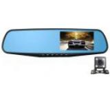 Camera Auto iUni B900H, LCD 4.3inch, Full HD, IR, oglinda heliomata, camera spate