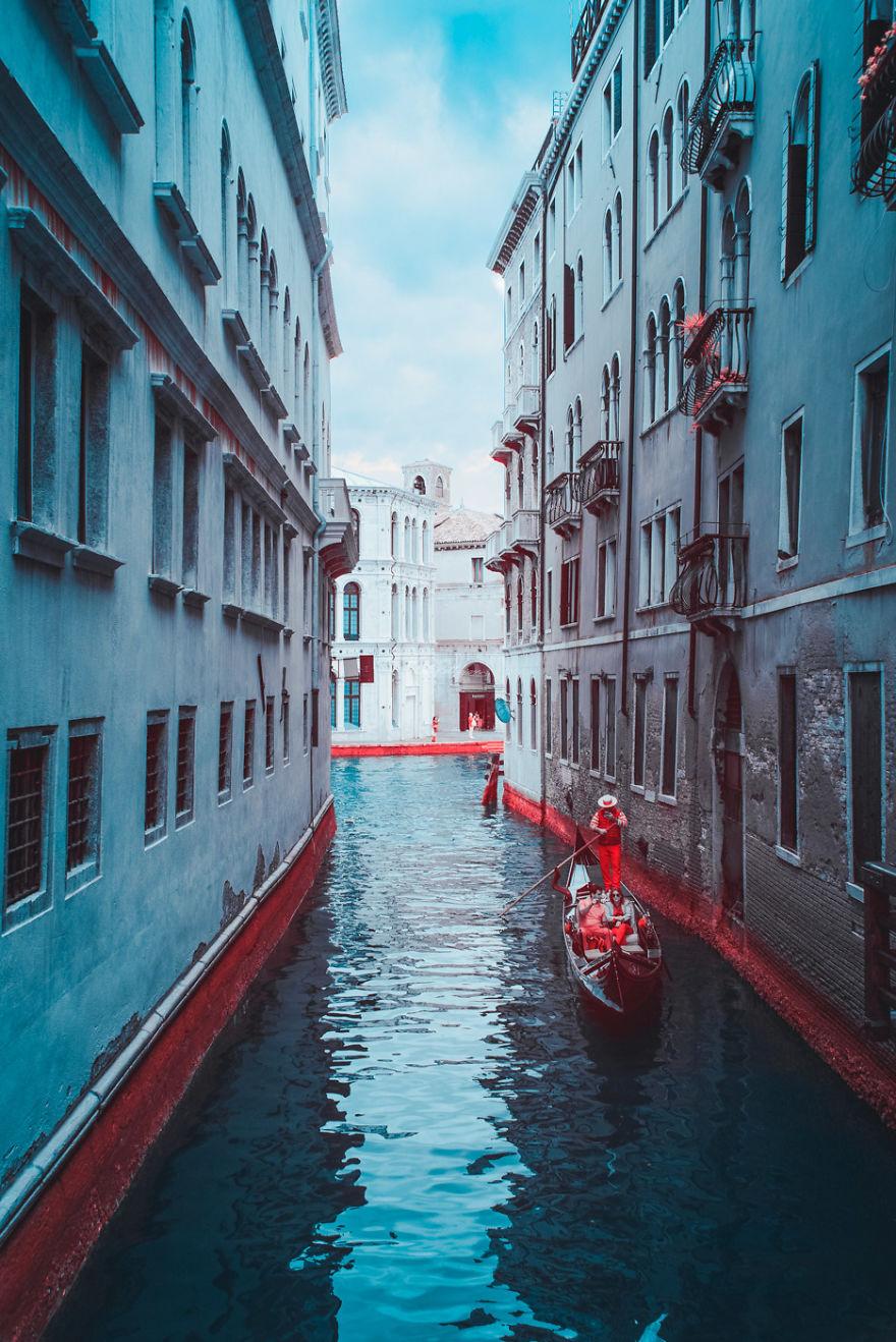 Lumea in infrarosu, intr-un set de fotografii superbe - Poza 7