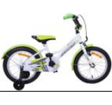 Bicicleta copii Passati Ninja, Roti 16inch (Verde/Alb)