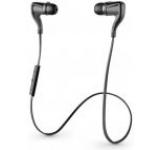 Casti alergare Plantronics BackBeat GO 2, Bluetooth, Husa cu incarcator portabil (Negre)