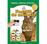 Familii de animale. 78 de autocolante