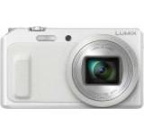 Aparat Foto Digital Panasonic DMC-TZ57EP-W, 16 MP, 1/2.3inch CMOS, Filmare Full HD, Zoom Optic 20x, WiFi (Alb)