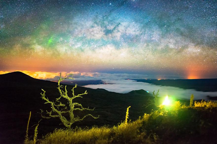 Lumina noptii: Un dans al Caii Lactee, in miezul verii - Poza 5