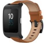 Sony Smartwatch 3 SWR50, LCD Transflectiv 1.6inch, Rezistent la apa si praf (Negru/Maro)