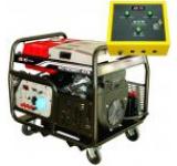Generator Curent Electric Senci SC13000T-ATS, 12000W, 400V, AVR si ATS inclus, Motor benzina, Demaraj electric