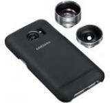Protectie spate si obiectiv foto Samsung ET-CG935DBEGWW pentru Samsung Galaxy S7 Edge (Negru)