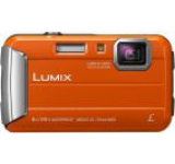 Aparat Foto Digital Panasonic DMC-FT30EP-D, 16.1 MP, 1/2.3inch CCD, Filmare HD, Zoom Optic 4x (Portocaliu)