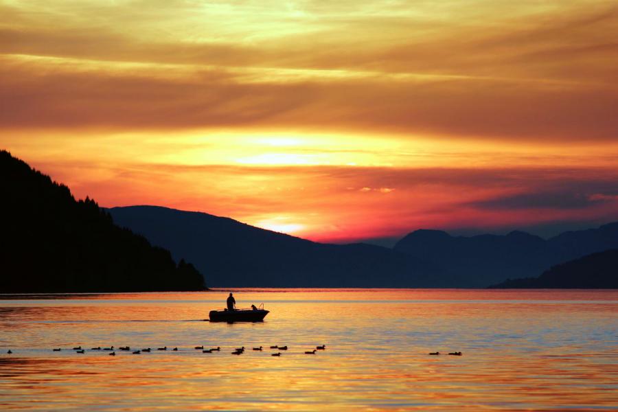 Apusuri de soare sublime in poze spectaculoase - Poza 22