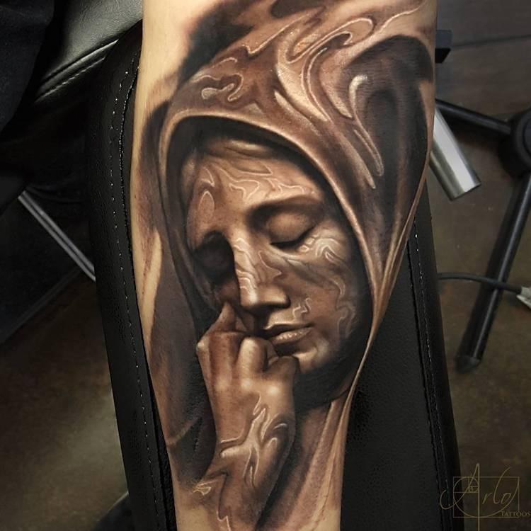 Tatuaje impresionante suprarealiste, de Alro DiCristina - Poza 6