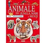 Animale din jungla mari si munti cu abtibilduri