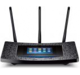 Router Wireless TP-Link Touch P5, Gigabit, Dual Band, 1300 Mbps, 3 antene detasabile, ecran touchscreen
