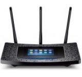 Router Wireless TP-Link Touch P5, Gigabit, Dual Band, 1300 Mbps, 3 antene detasabile, ecran touchscreen
