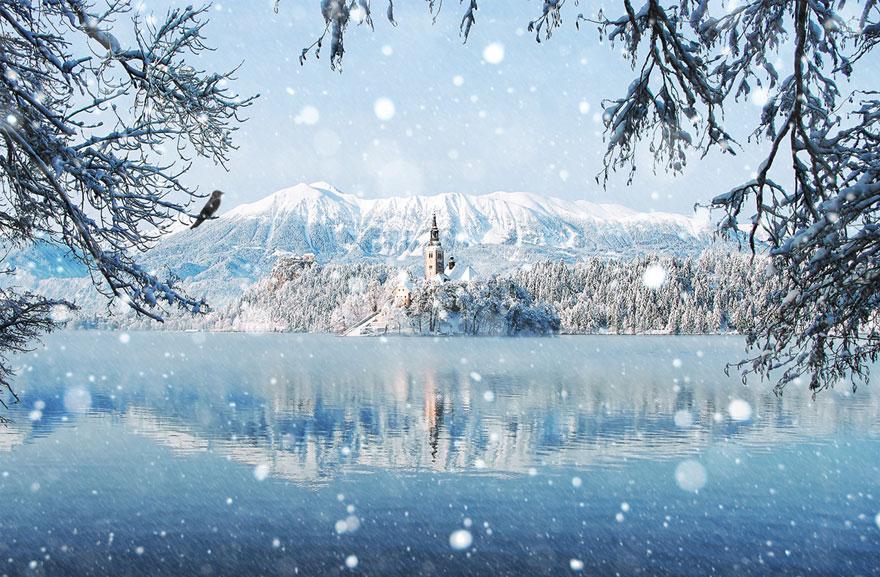 Cele mai frumoase peisaje de iarna - Poza 13
