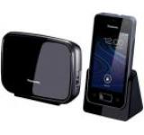Telefon Fix Panasonic KX-PRX150, Ecran TFT 3.5inch, WI-FI, 3G, Android (Negru)