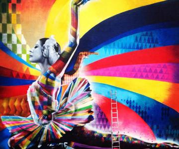 Balerina din grafitti: Maya Plisetskaya