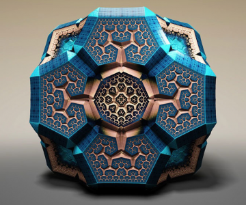 Fascinantii fractali Faberge ai lui Tom Beddard