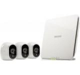 Kit Arlo 3 Camere de supraveghere + Smart Home Base VMS3330, Filmare HD, Day/Night, Wi-Fi