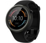 Smartwatch Motorola Moto 360 Sport 2nd Gen, Procesor Quad-Core 1.2GHz, AnyLight Hybrid Display 1.37inch, 512MB RAM, 4GB Flash, Wi-Fi, Bratara silicon, Android Wear, Rezistent la apa si praf (Negru)
