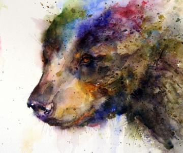 Animale in acuarele ireale, de Dean Crouser