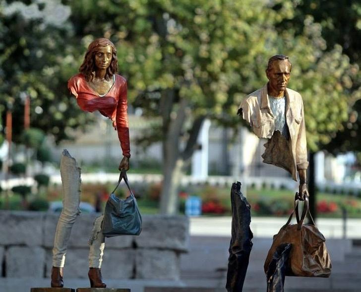 Sculpturi uimitoare care sfideaza legile fizicii - Poza 10