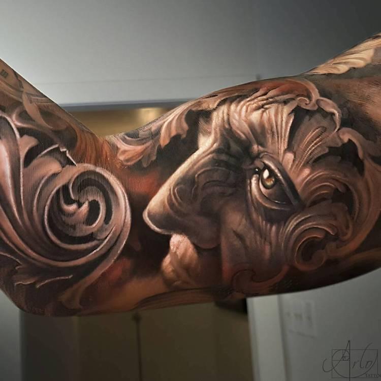 Tatuaje impresionante suprarealiste, de Alro DiCristina - Poza 1