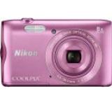 Aparat Foto Digital NIKON COOLPIX A300, Filmare HD, 20.1 MP, Zoom Optic 8x (Roz)