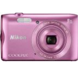 Aparat Foto Digital NIKON COOLPIX A300, Filmare HD, 20.1 MP, Zoom Optic 8x (Roz)