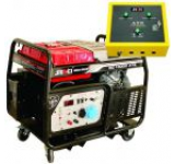 Generator Curent Electric Senci SC13000-ATS, 12000W, 230V, AVR si ATS inclus, Motor benzina, Demaraj electric