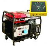 Generator Curent Electric Senci SC13000-ATS, 12000W, 230V, AVR si ATS inclus, Motor benzina, Demaraj electric