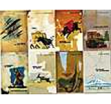 Vintage Hemingway 8 Books Collection Set
