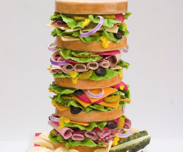 Torturi de nunta incredibile, de la Studio Cake