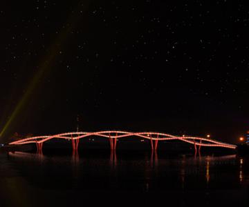 Nanhe River Landscape Bridge