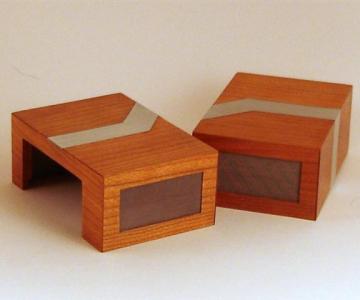 Carcasa PC din lemn si aluminiu