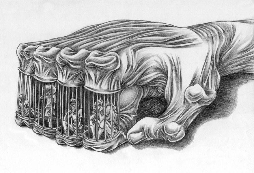 Problemele societatii actuale, in ilustratii rascolitor de sincere - Poza 27
