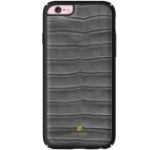 Protectie spate Just Must Croco JMCR3IPH6GR pentru Apple iPhone 6/6S (Gri)