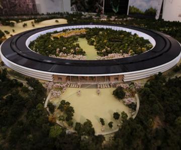 Visul lui Steve Jobs: Sediul Apple OZN
