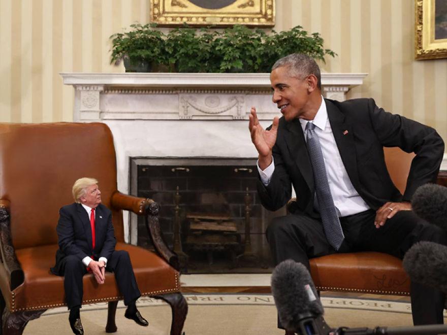 Donald Trump, ridiculizat de internauti, in poze haioase - Poza 2