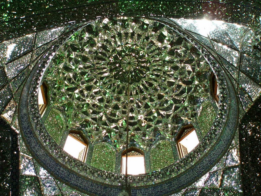 Shah Cheragh: Frumusetea orbitoare a unei moschei - Poza 7