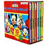 Disney Mickey Mouse Clubhouse Little Library Pocket Size 6 Books